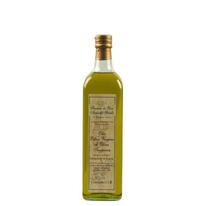 Bild von Native Olivenöl Extra Qualität Taggiasca Filtriert
