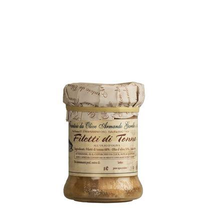 Bild von Thunfischfilets in Olivenöl