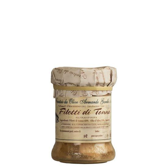 Immagine di Filetti di tonno in olio di oliva